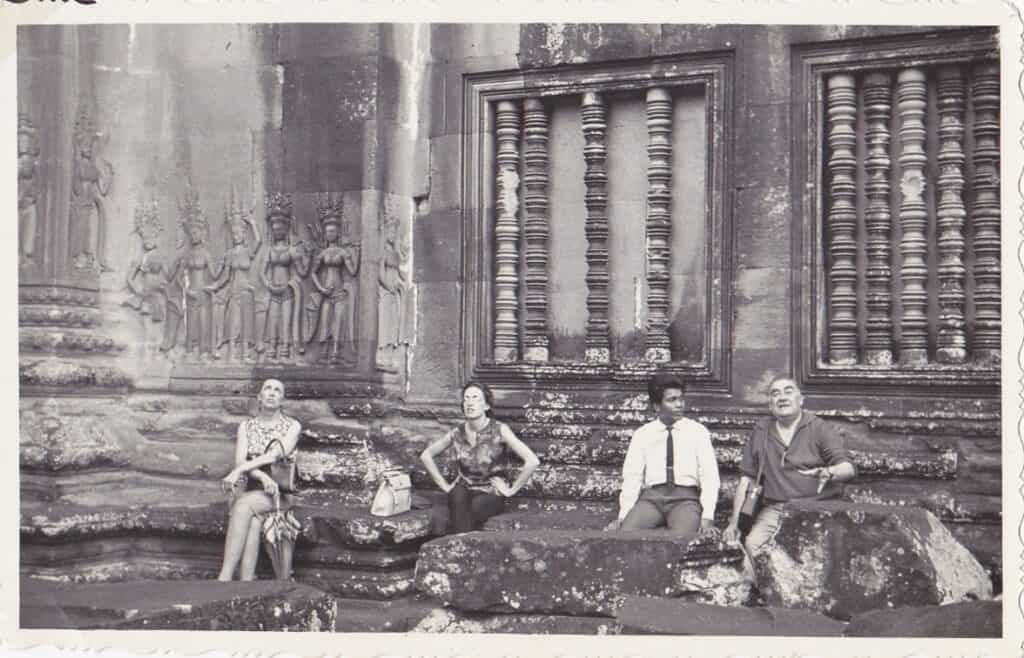 Angkor Wat Temple during 1960s