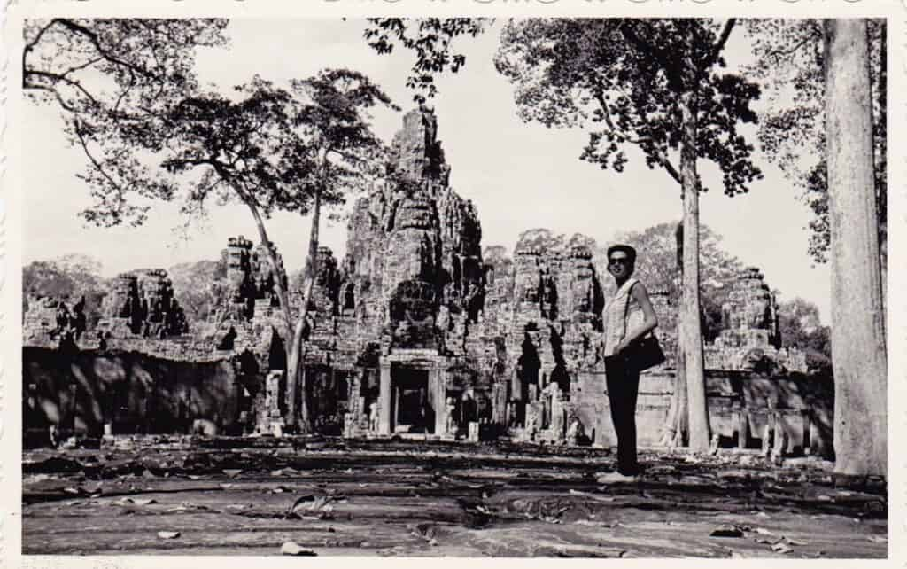 Bayon Temple in 1960