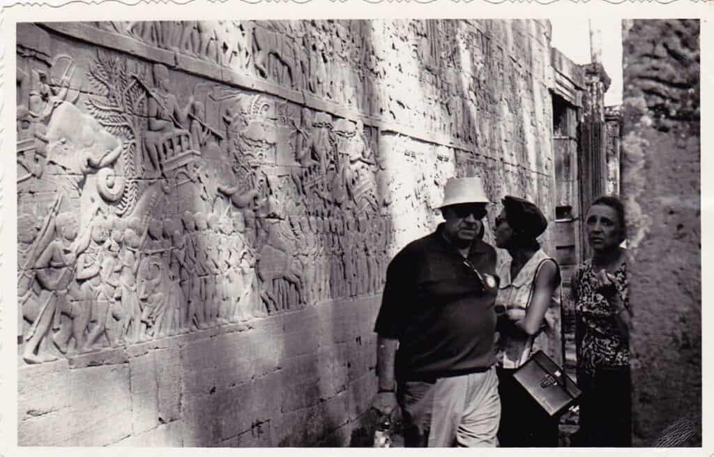 Bayon Temple Photos in 1960s