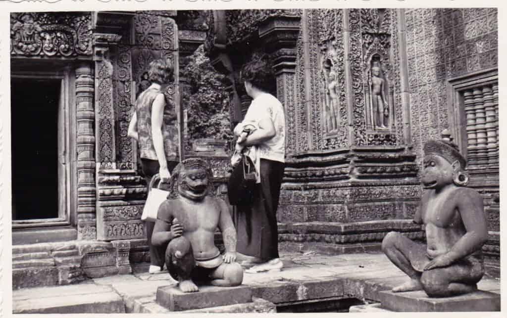Old Photo of Banteay Srey