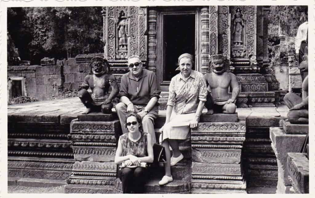 Photo of Banteay Srey Temple 1960s