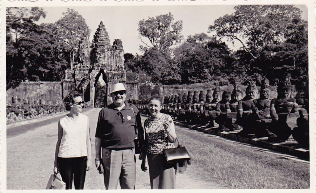 Southgate of Angkor Thom 1960s