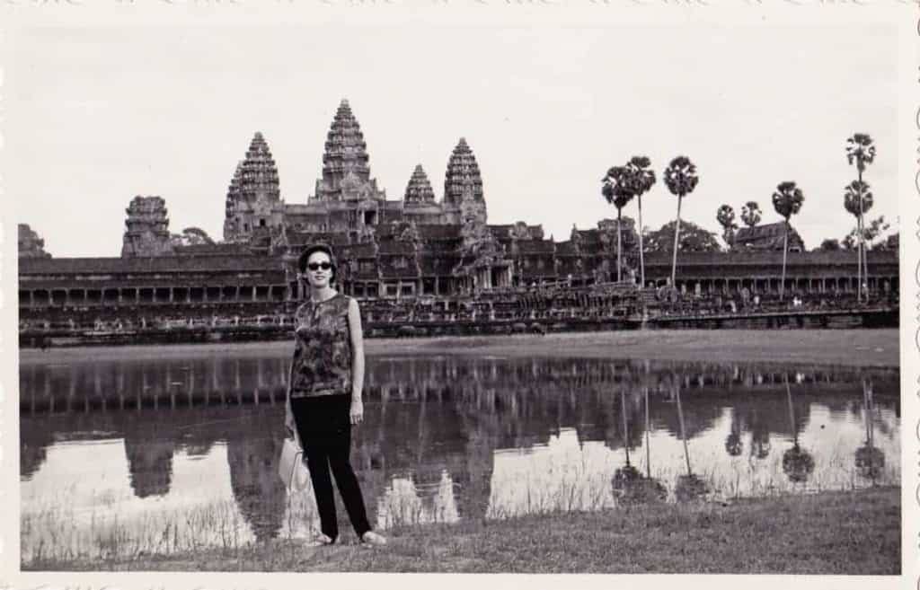 Angkor Wat Temple in the 1960s