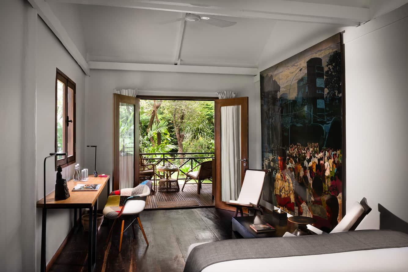 Garden Cottage Bedroom in Siem Reap