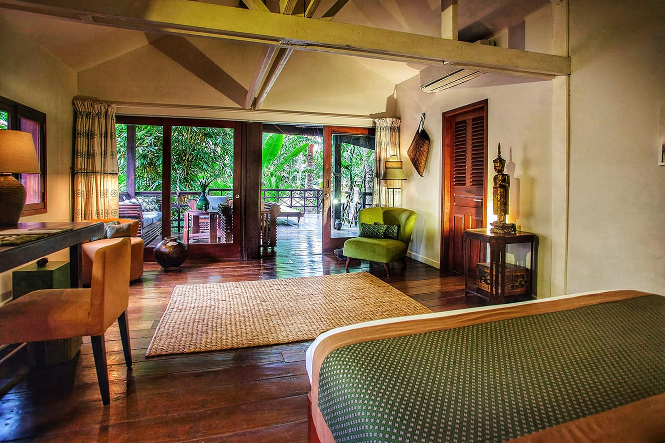 Green Suite Room at Maison Polanka Siem Reap
