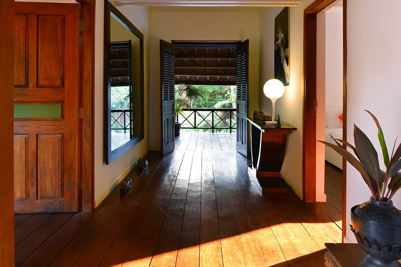 Green Suite Room Walkway at Maison Polanka