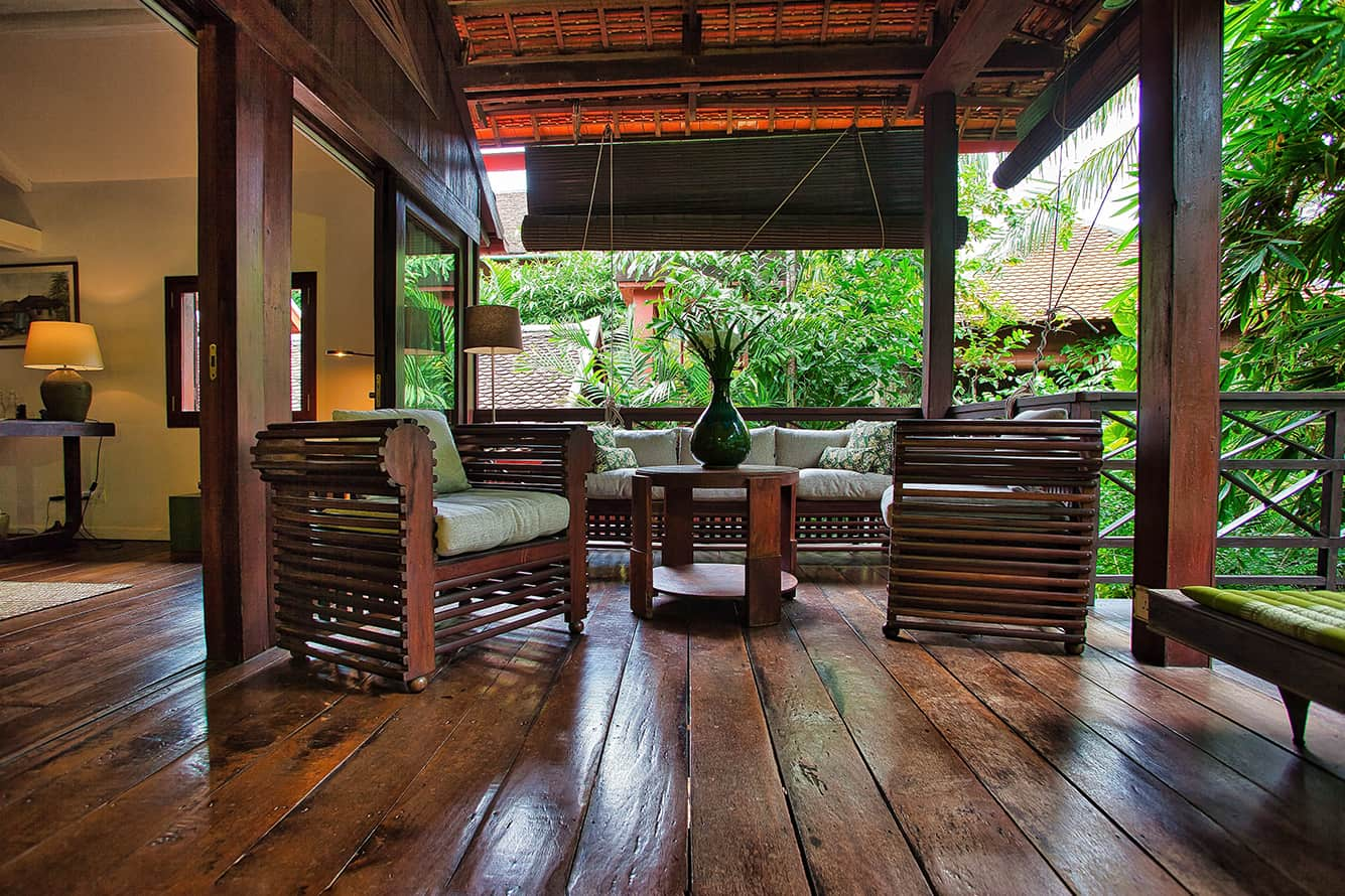 Maison Polanka Green Suite Sitting Area