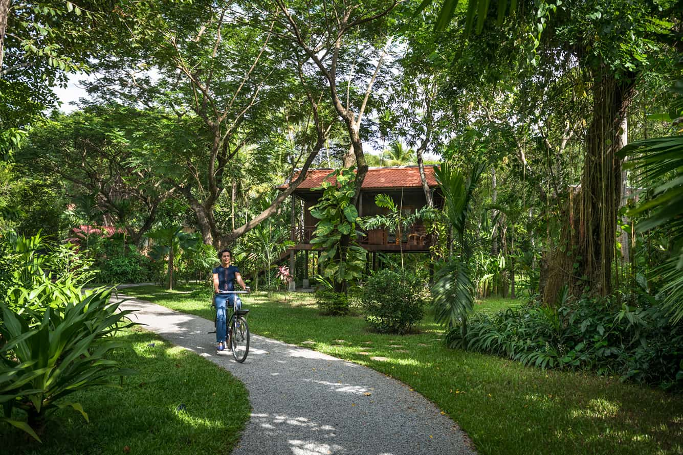 Small Path to Garden Cottage Siem Reap