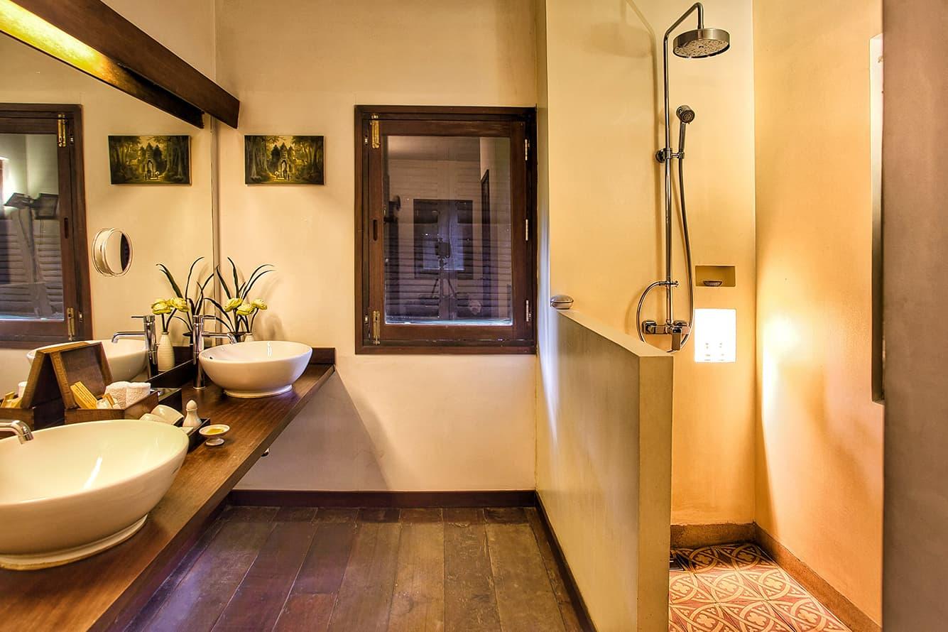 Khmer House Bathroom Siem Reap