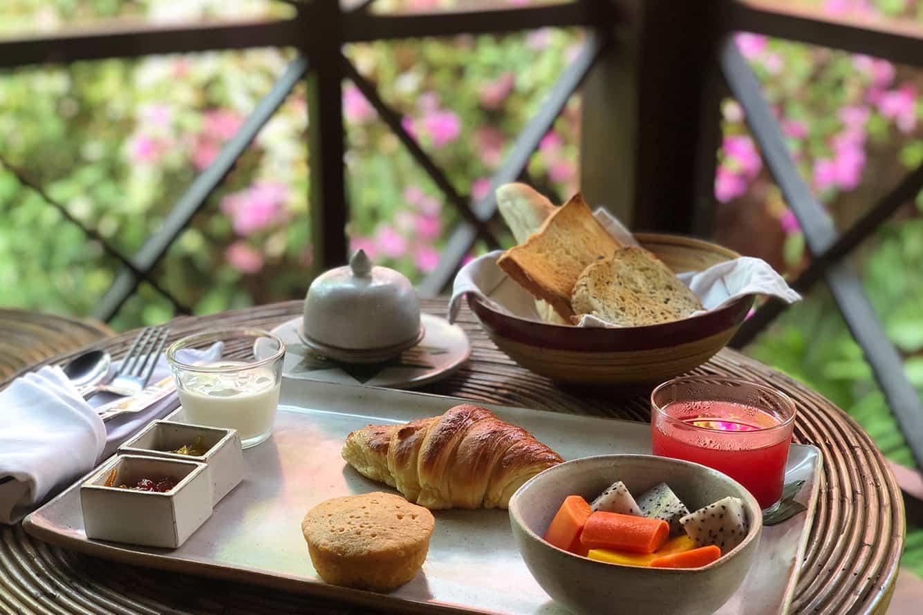 Breakfast at Maison Polanka Siem Reap