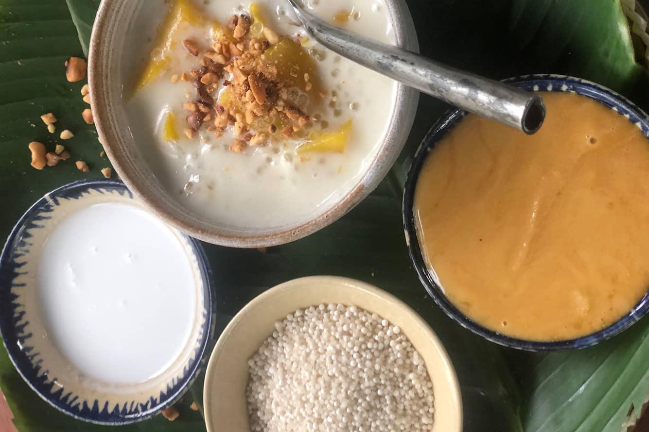 Khmer Dessert at Maison Polanka