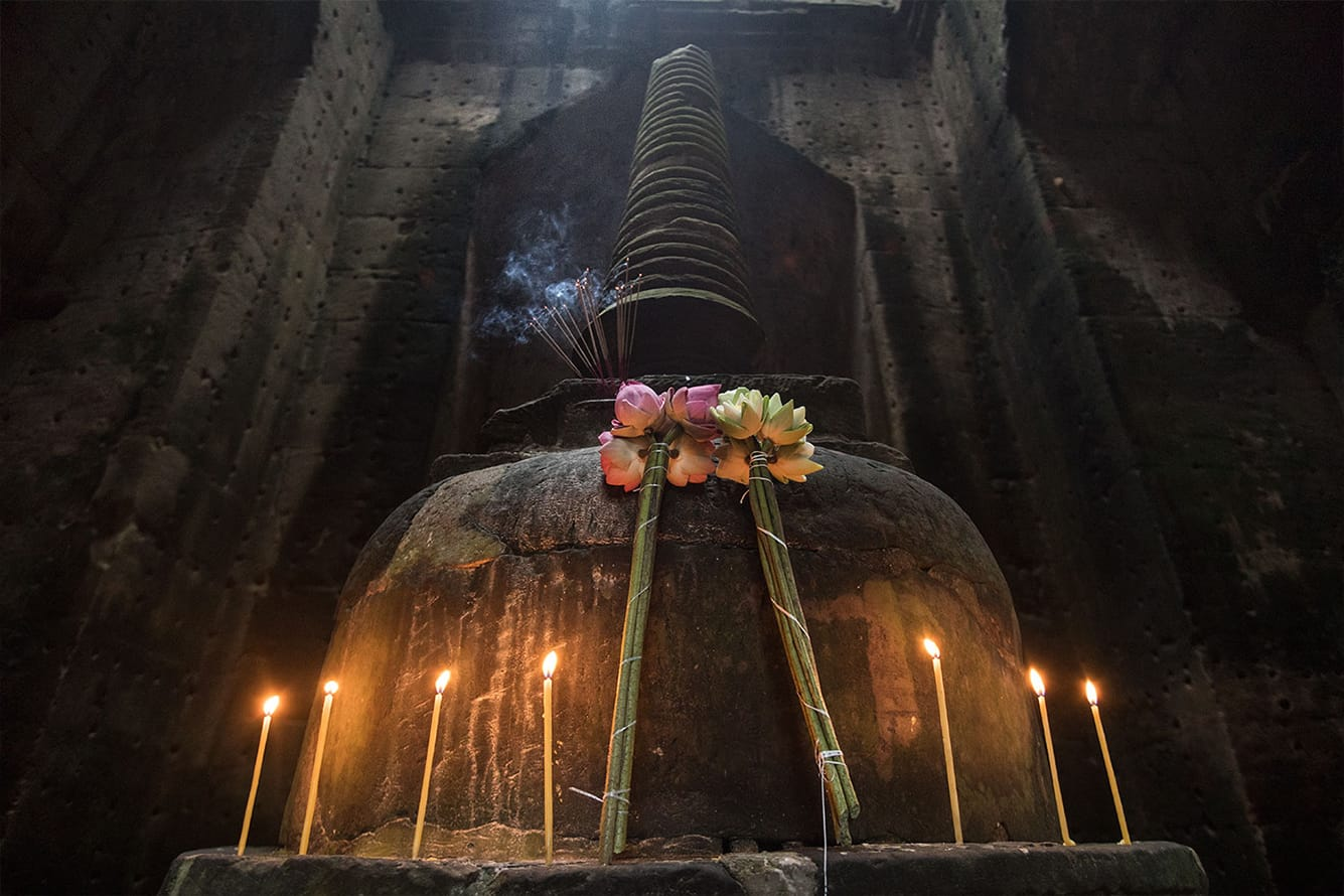 Stupa at Preah Khan Temple