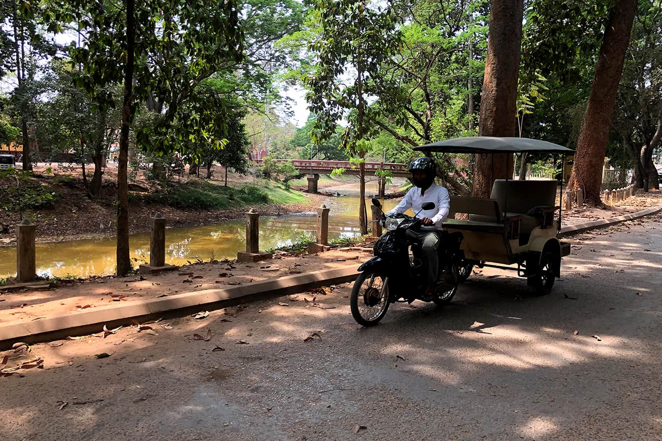 Tuk Tuk Driver at Siem Reap