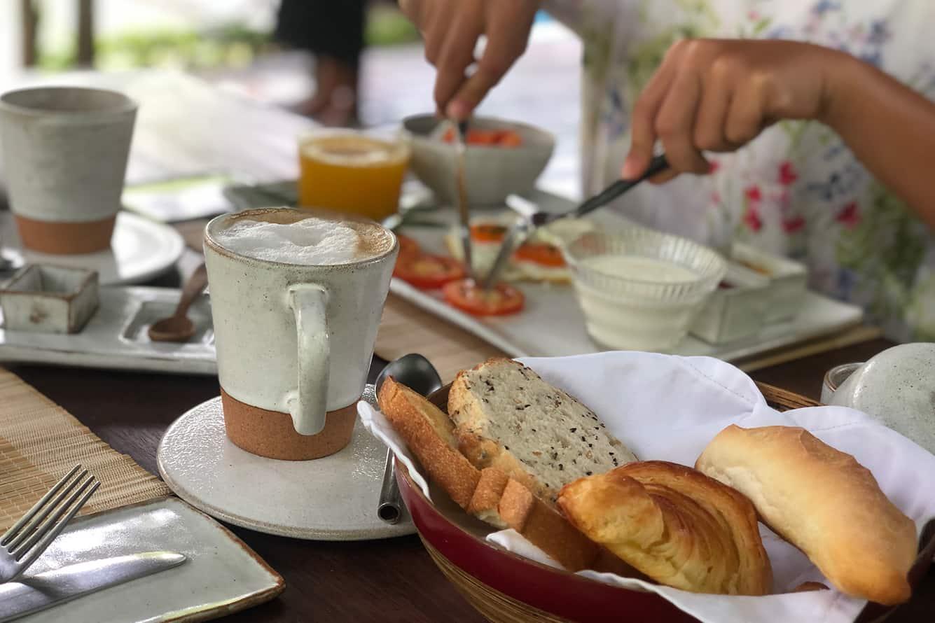 Western Breakfast at Maison Polanka