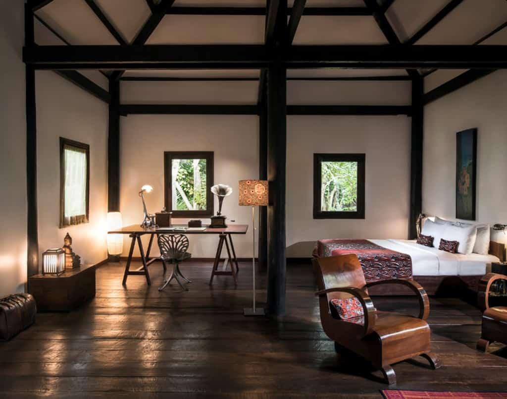 Wooden Khmer House