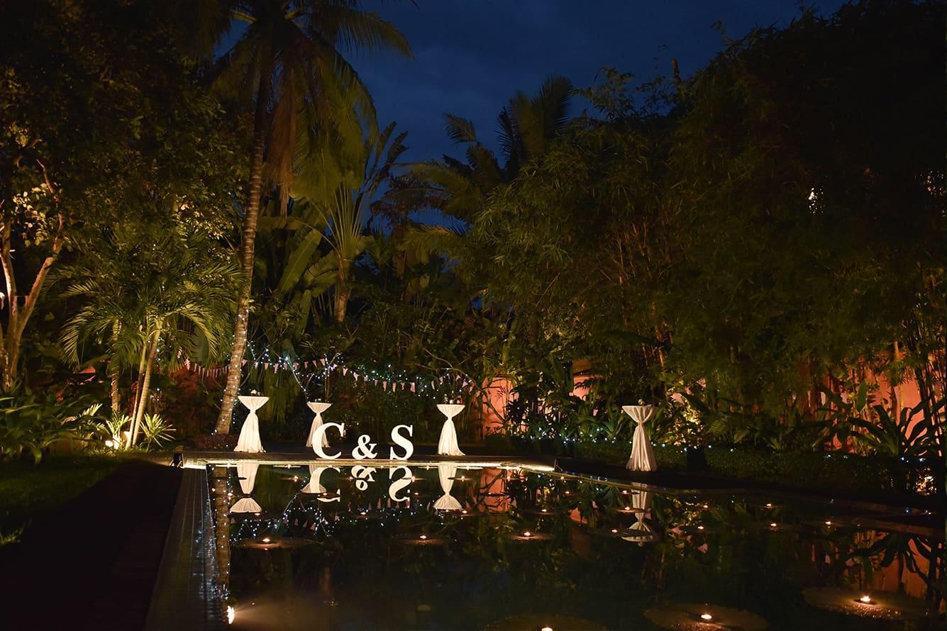 Wedding Celebration at Maison Polanka Pool