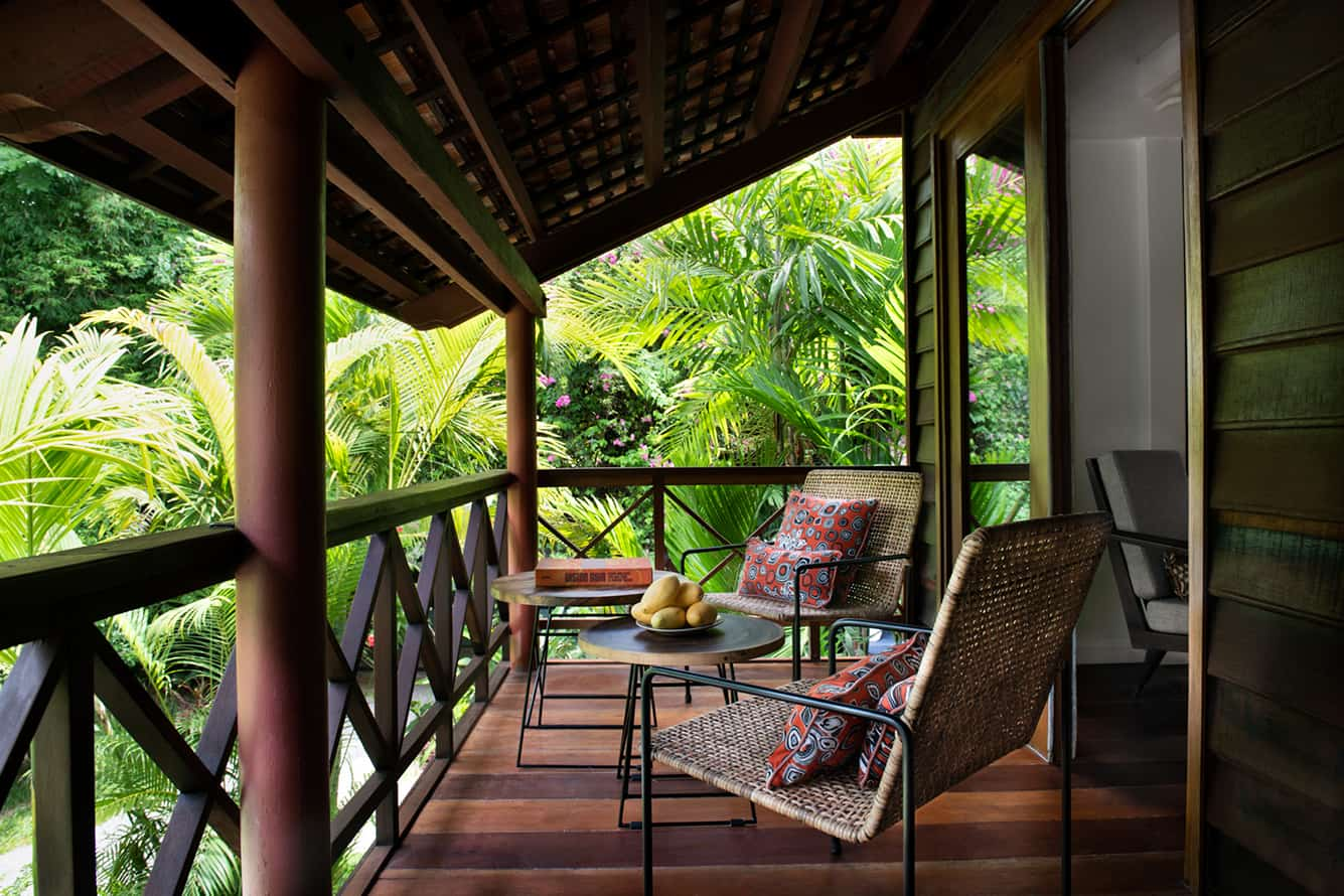 Family Suite Balcony Sitting Area