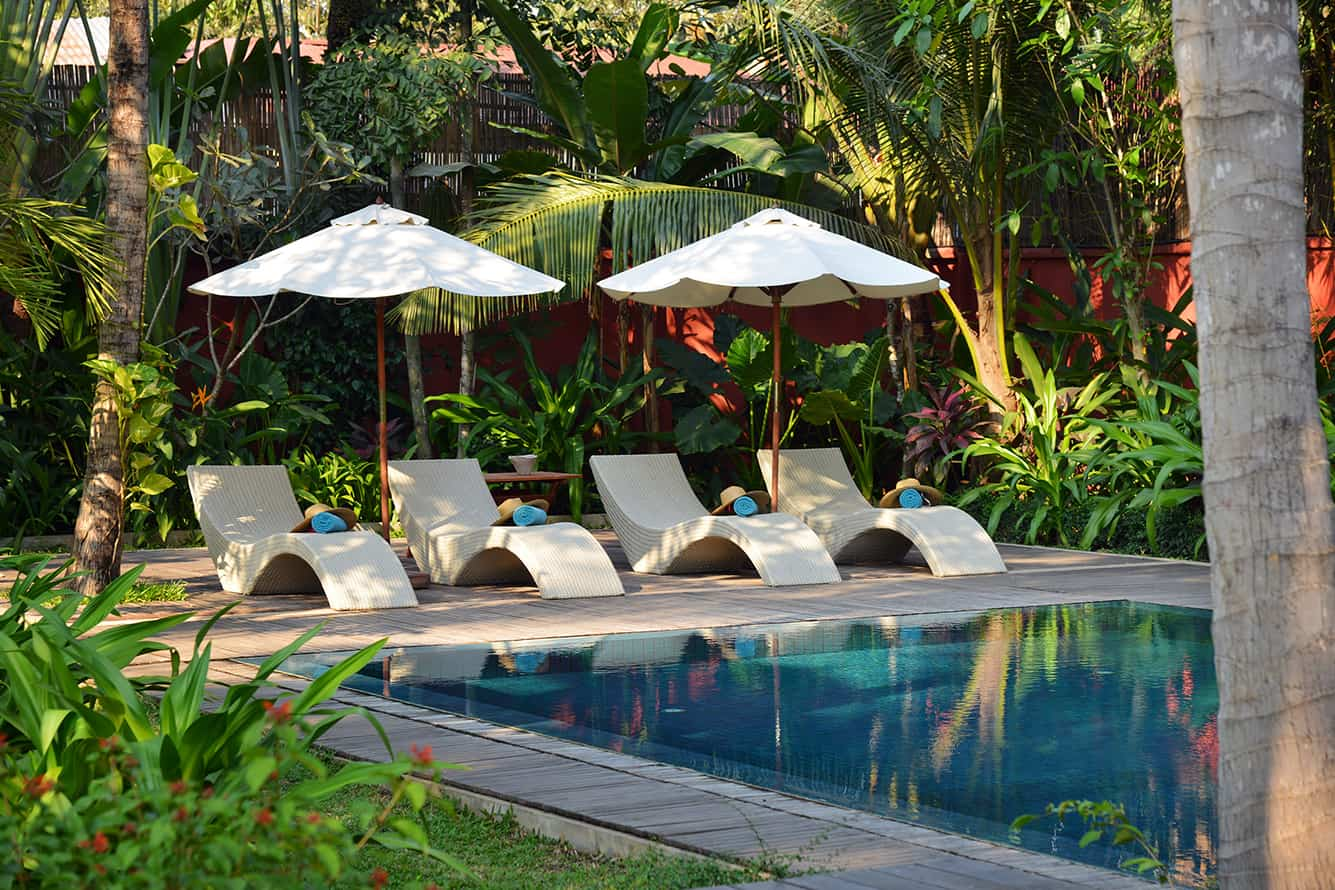 Maison Polanka Relaxed Swimming Pool in Siem Reap