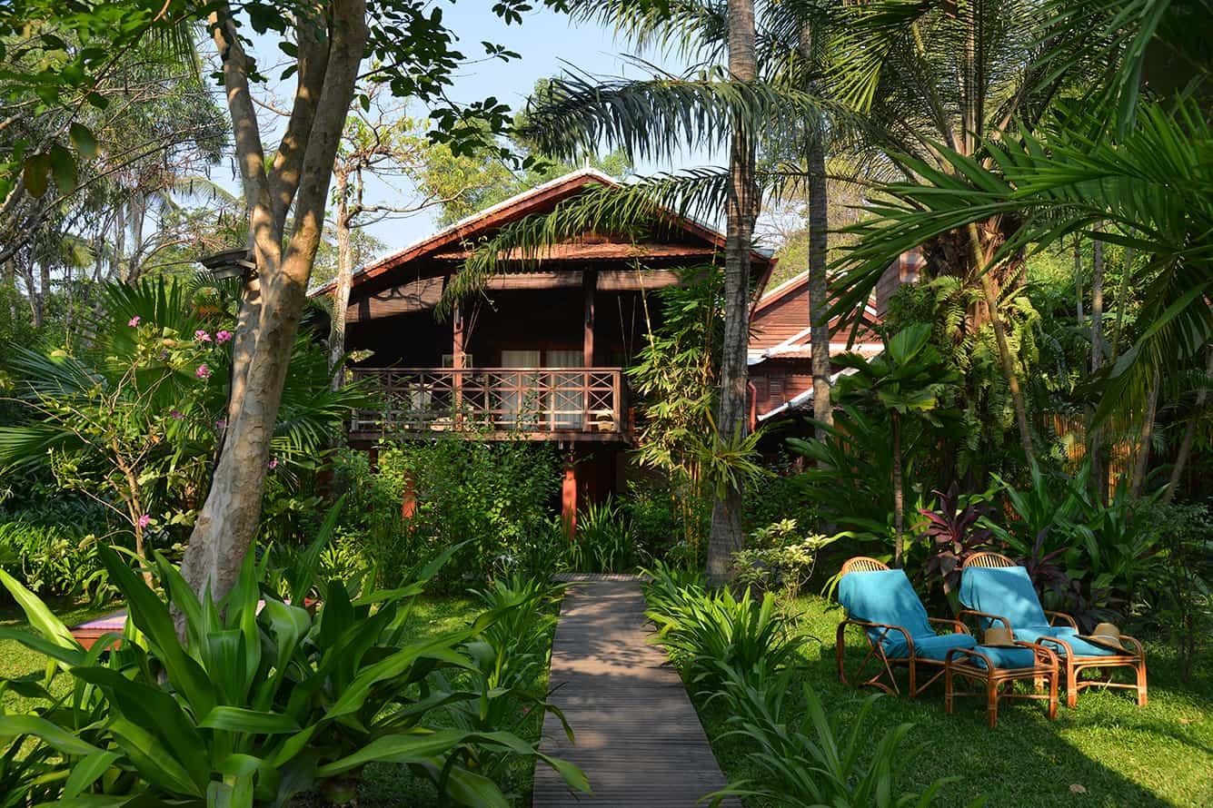 Tropical Garden Maison Polanka Siem Reap