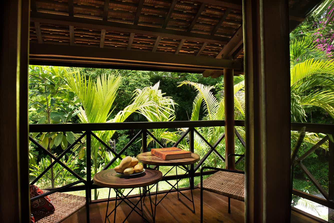 Tropical Garden View from Maison Family Suite in Siem Reap